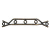7246 100mm Cabinet Handle Antique brass