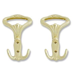Brass Plated Tieback Hook