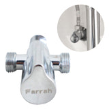 Farrah Brass Valve Diverter
