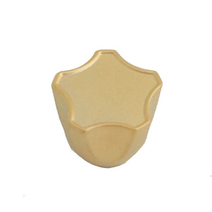 839 Plain Satin Gold Knob