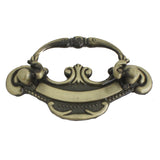 8827 Classic Antique Brass Pull - Magnificent Marketing (DIY Builders Hardware)