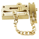 Magnificent Brass Door Chain with Bolt