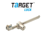 Target 9013 Sliding Glass Lock with Ratchet Bar