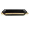 9207 Rectangle Gold Plated 125mm Flush Pull