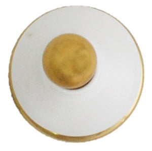 Ceramic Solid Brass Robe Hook