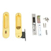 Sliding Door Lock Privacy Keyless