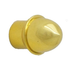 Plain Gold Plated End Post