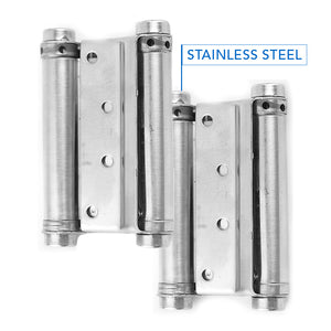 Stainless Double Action Spring Hinges