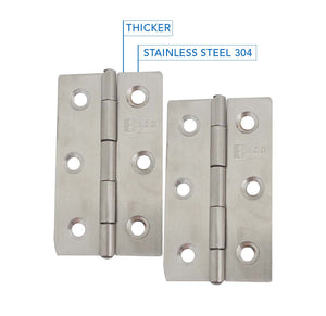 Stainless Steel Heavy Duty Narrow Butt Hinge