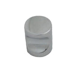 N17 Plain Chrome Knob Handle