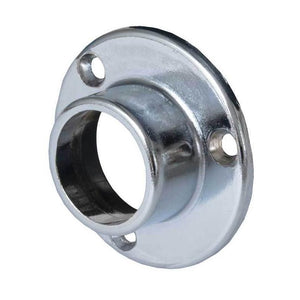 Chrome Round Flange
