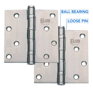 Bucci Stainless Steel 304 Hinges