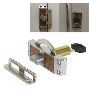 Seabird Sliding Door Latch Keyed