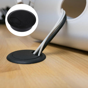 Desk Cable Grommet (Black)