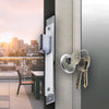 Corona Aluminum Swing Door Double Lock