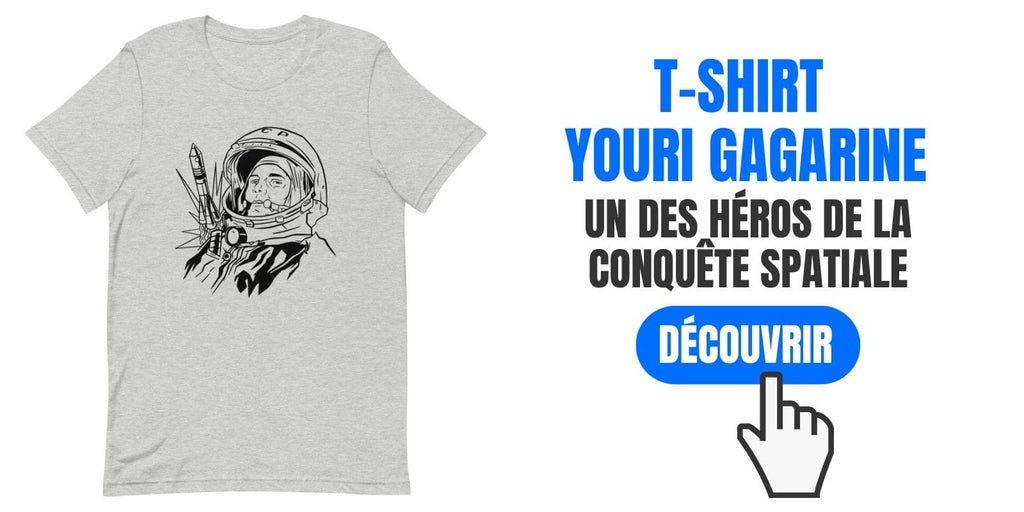 T-shirt Youri Gagarine