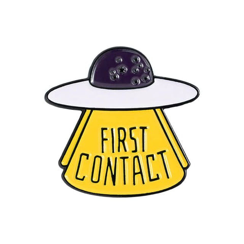 Pin's Ovni First Contact