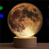 Lampe Lune d'ambiance - Espace Stellaire