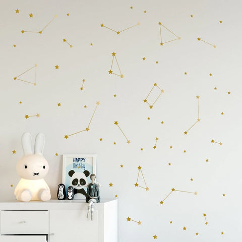 Stickers muraux Constellations du Ciel