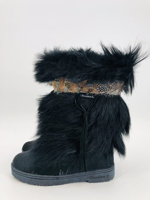 Genuine Goat Fur Boots - Two Colors