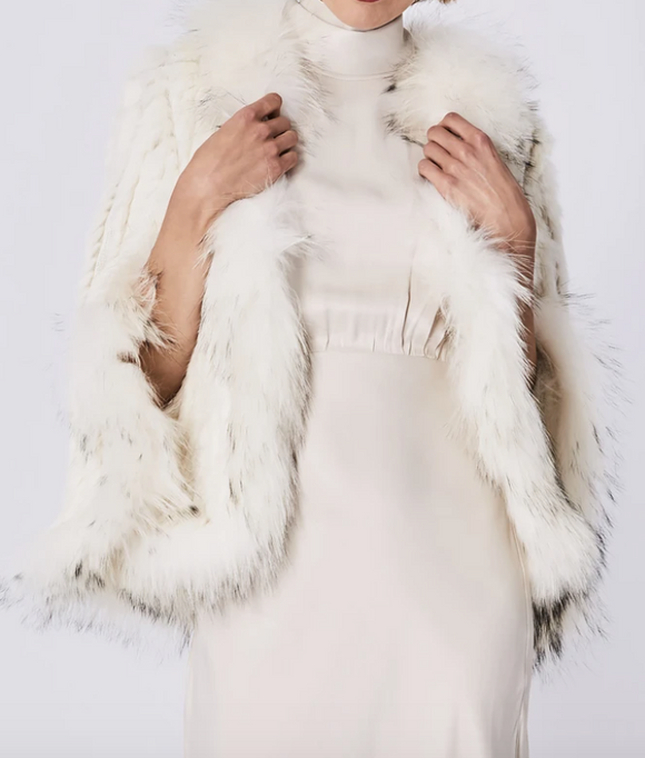 Fox & Rabbit Fur Jacket
