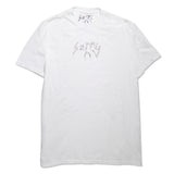 SORRY CRYSTAL LOGO TEE (WHITE)