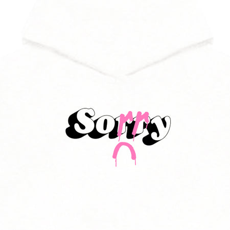 ...in advance Hoodie [White w/ pink]