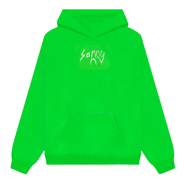 CANDY APPLE SORRY CRYSTAL LOGO HOODIE