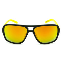 Load image into Gallery viewer, Boys Aviator Sunglasses Hollister Black/Yellow