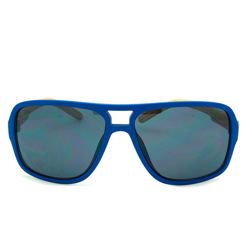 Boys Aviator Sunglasses Hollister Blue/Wood