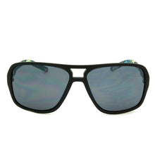 Load image into Gallery viewer, Boys Mirrored Aviator Sunglasses Hollister Black/Floral
