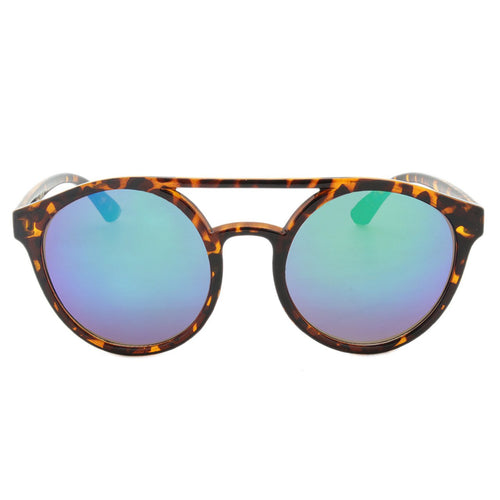 Unisex Round Sunglasses Hampton Polished Tortoise