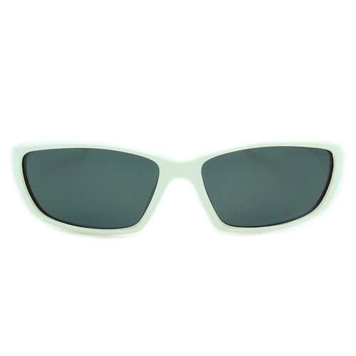 Boys Sport Polarized Sunglasses Daytona White