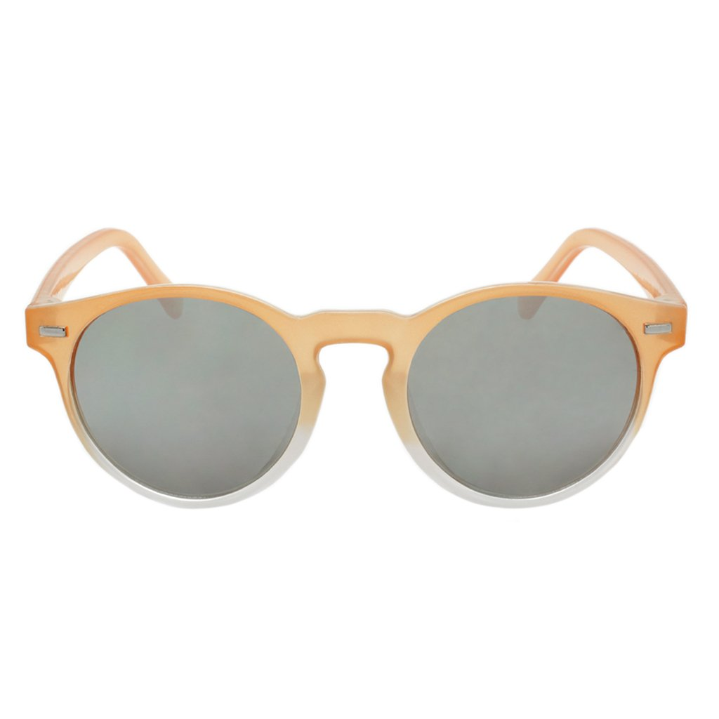 Girls Round Sunglasses Lanai Orange