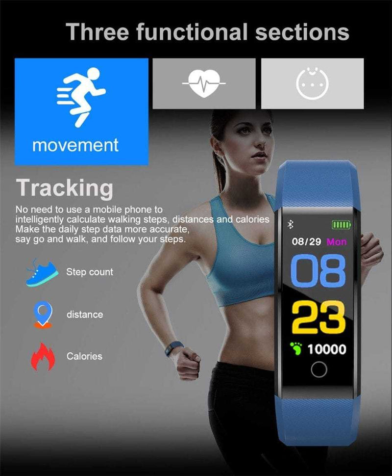Montre intelligente Smartwatch Sport pour ios android + BOX