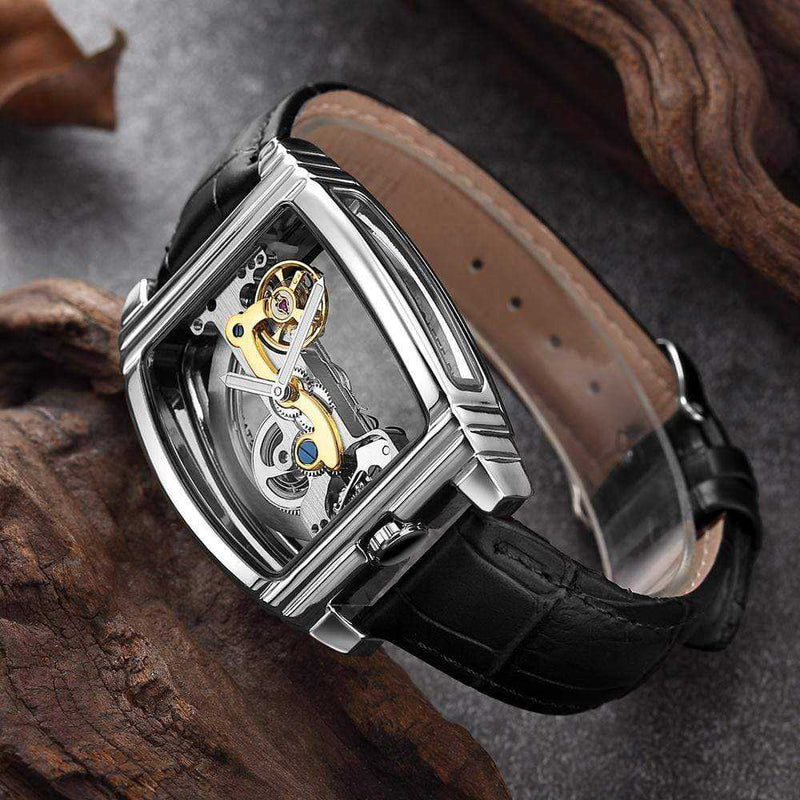 Montre transparente automatique Fashion