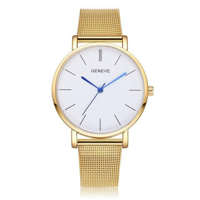 Montre a quartz luxe