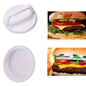 1 Set Round Shape Hamburger Press Food-Grade