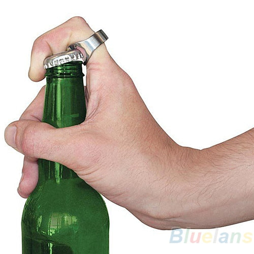 Beer Bottle Opener Ring Cool looking