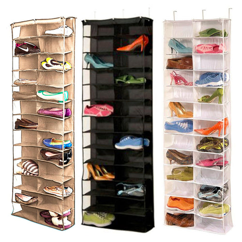 26 Pocket Shoe Rack Storage Organizer Holder