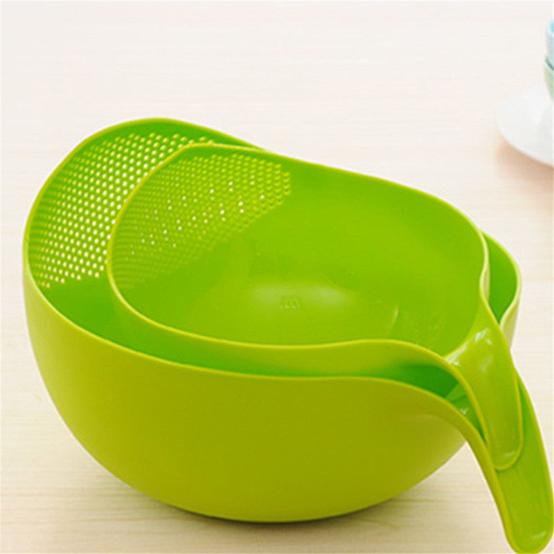 Kitchen Rice Bowl Plastic Fruit Bowl