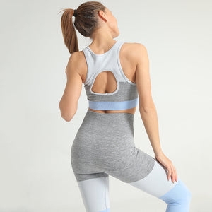 EVERYDAY SEAMLESS LEGGINGS SKY BLUE