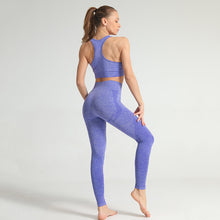 Load image into Gallery viewer, HYPERFLEX SEAMLESS LEGGINGS INDIGO