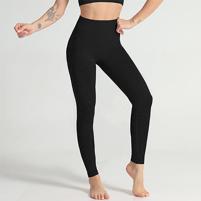 HYPERFLEX SEAMLESS LEGGINGS BLACK