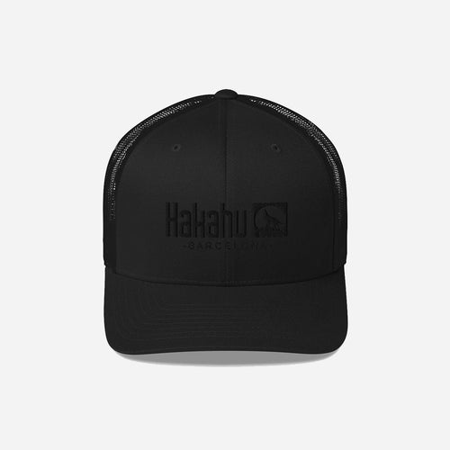 KAKAHU BLACK CAP EMBROIDERED LOGO