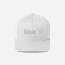 Load image into Gallery viewer, KAKAHU WHITE CAP EMBROIDERED LOGO