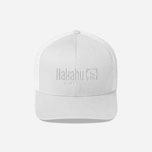 KAKAHU WHITE CAP EMBROIDERED LOGO