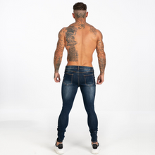 Load image into Gallery viewer, BASIC SKINNY JEANS MIDNIGHT NAVY