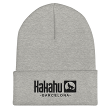 Load image into Gallery viewer, KAKAHU GREY BEANIE EMBROIDERED LOGO
