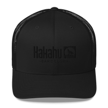Load image into Gallery viewer, KAKAHU BLACK CAP EMBROIDERED LOGO
